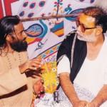 with MORARI BAPU
